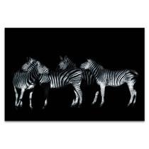 Monochrome Wildlife Portrait Art Print