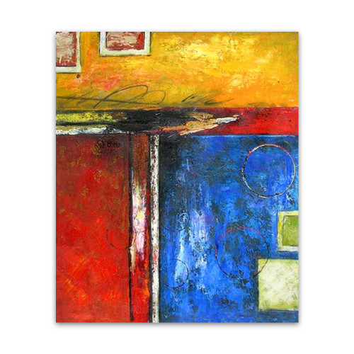 Sharp Cheap Abstract Wall Paintings Canvas Art For