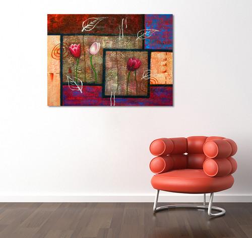 Tulips buy canvas art floral art prints online in brisbane for Buy canvas prints online