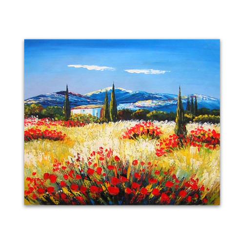 Fertile Original Landscape Art Paintings To Buy For Living Rooms