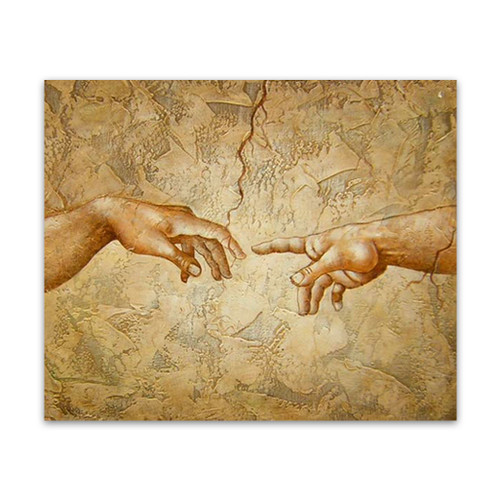 Touch wall canvas art original oil paintings for sale for Cheap canvas paintings for sale