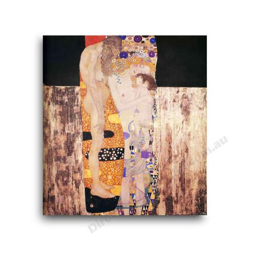 Klimt | The Three Ages of Woman - Direct Art Australia