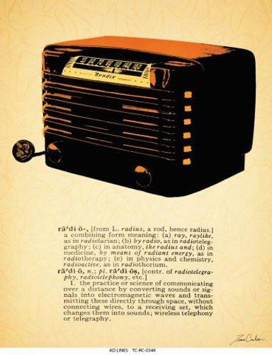 BendixRadio11x14