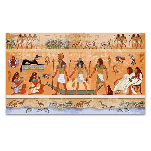 Ancient Egypt Scene Canvas Print | Wall Art For Living Room