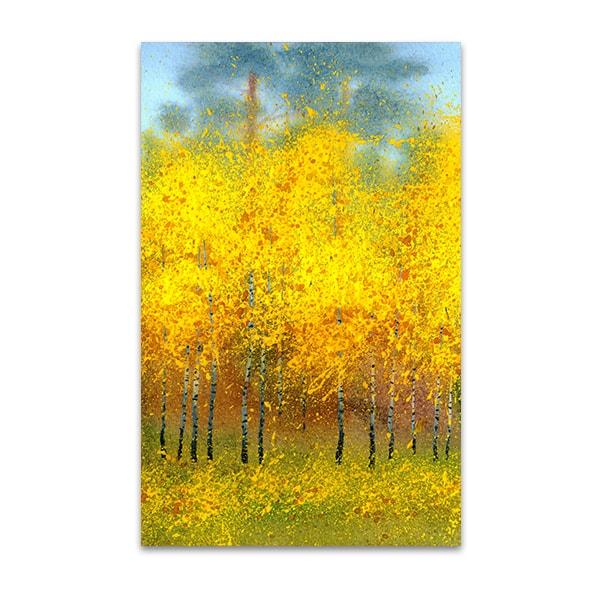 Autumn Trees Wall Art Print | New Home Decor Concepts