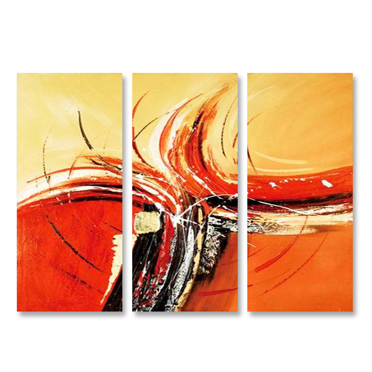 Melting Point - 3panels In Decorative Wall Art Ideas
