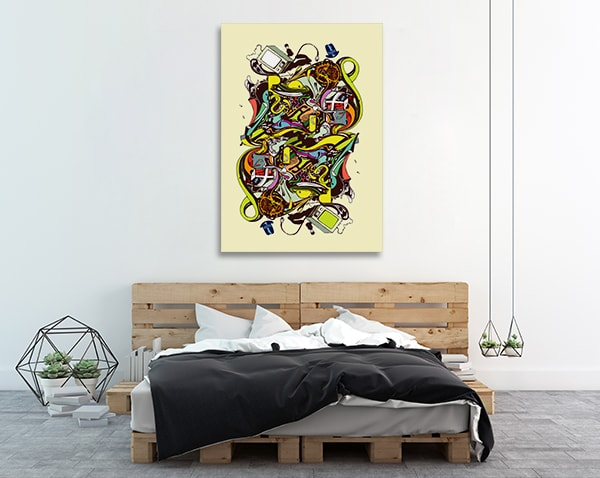 Abstract Complex Canvas Art Prints