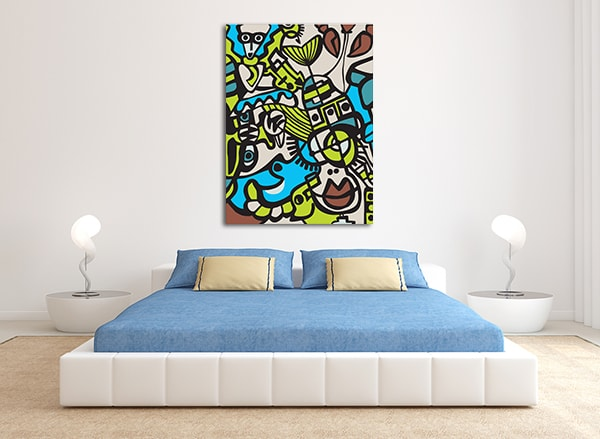 Abstract Mosaic Art Prints