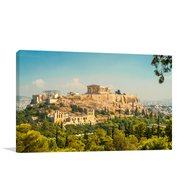 Acropolis Art Print Athens Artwork Photo