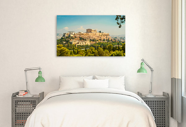 Acropolis Art Print Athens Wall Photo