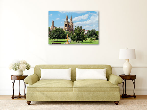 Adelaide Art Print St Peters Cathedral Photo Canvas