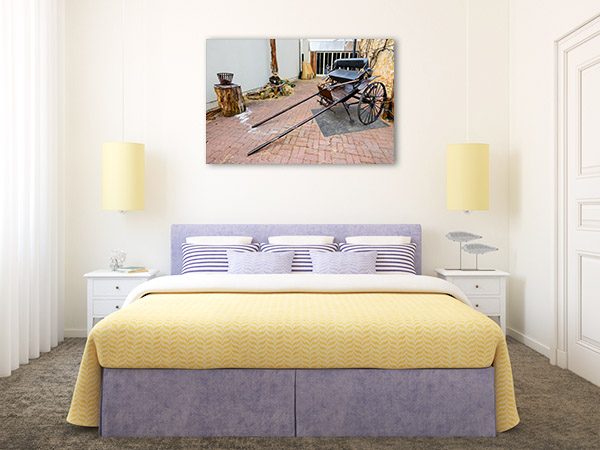 Adelaide Hills Art Print Hahndorf Horsecart Photo Artwork