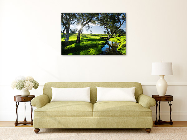 Adelaide Hills Wall Art Print Landscape Canvas Artwork