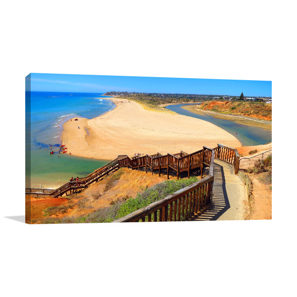 Adelaide Wall Art Print Beach Walkway Canvas Artwork