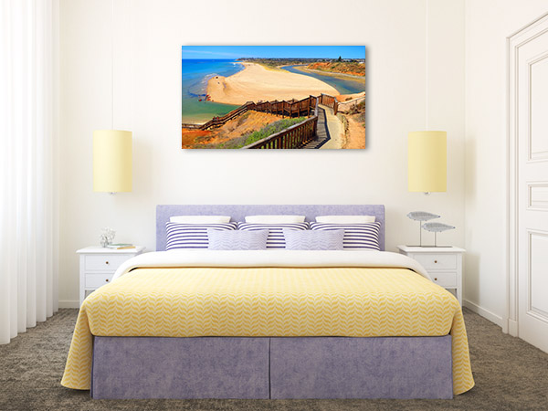 Adelaide Wall Art Print Beach Walkway Picture Canvas