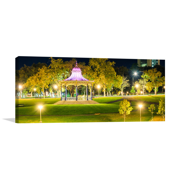 Adelaide Wall Print Elder Park Rotunda Art Picture