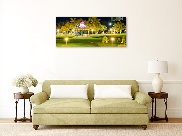 Adelaide Wall Print Elder Park Rotunda Picture Artwork