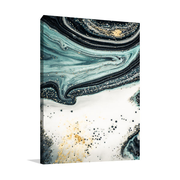 Agate Fluid Marble 5 Wall Artwork