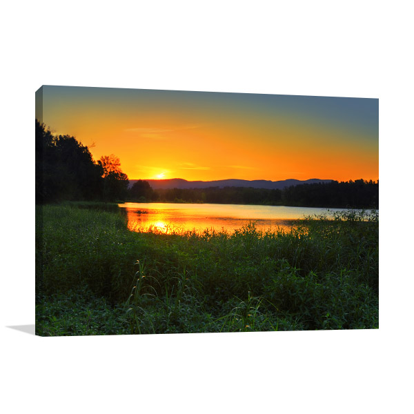 Agnes Banks Art Print Sunset Artwork Wall