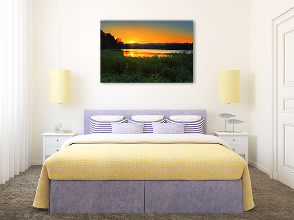 Agnes Banks Art Print Sunset Wall Picture