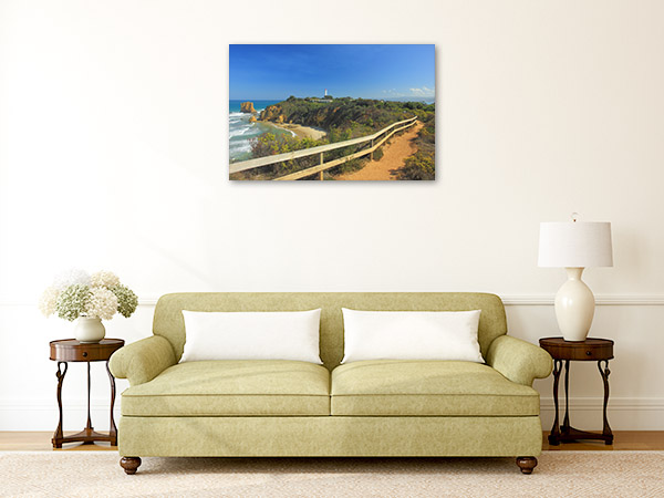 Aireys Inlet Wall Art Print Walkway Picture Canvas