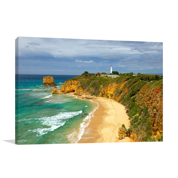 Aireys Inlet Wall Print Lighthouse Photo Artwork