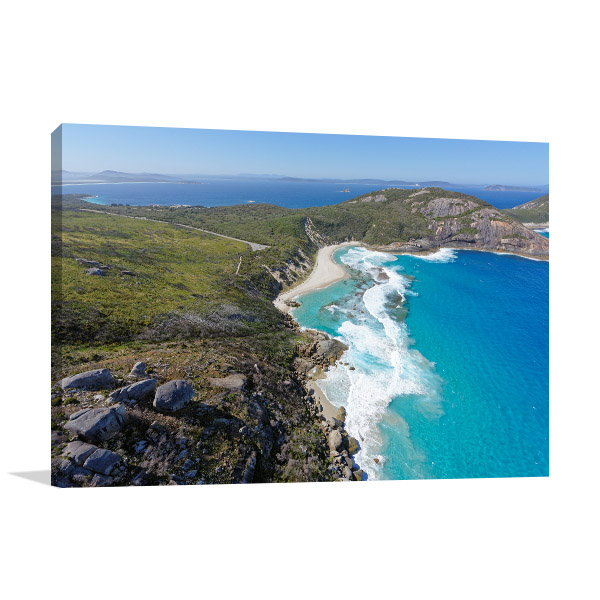 Albany Wall Art Print Isthmus Bay Photo Canvas