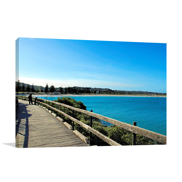 Albany Wall Print Middleton Beach Art Picture
