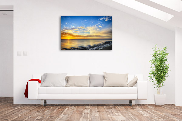 Aldinga Beach Wall Art Sunset Photo Artwork