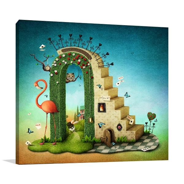 Alice in Wonderland Canvas Prints