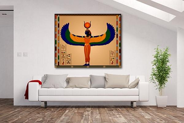 Ancient Egypt Woman Canvas Prints