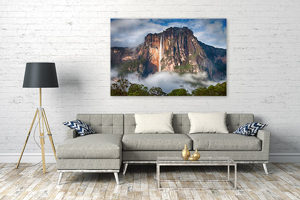 Angel Falls Art Picture