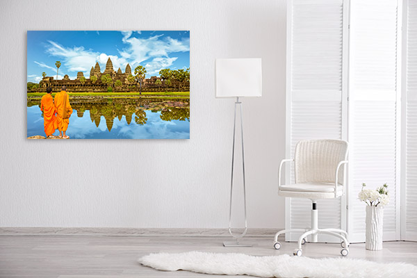 Angkor Wat Art Photo