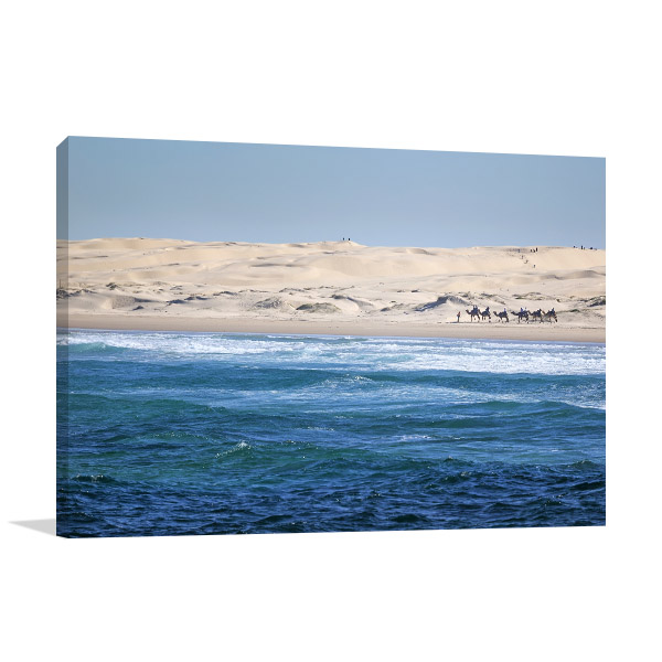 Anna Bay Canvas Print Stockton Beach Photo Art