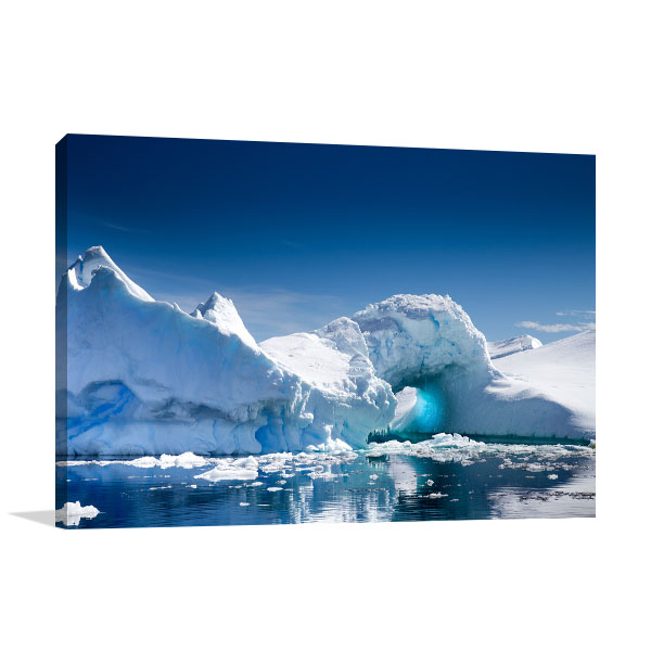 Antarctica Art Print Iceberg Picture Artwork