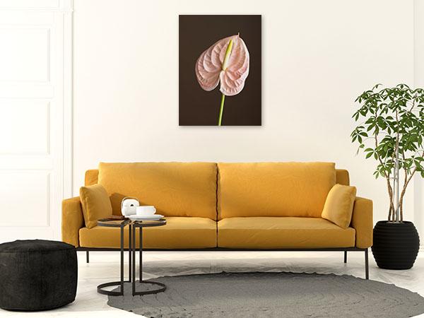 Anthurium Stalk Canvas Art Prints