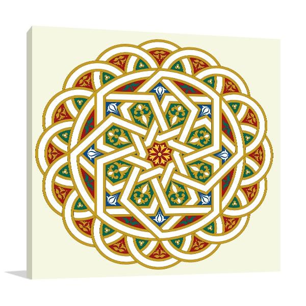 Arabesque Pattern Artwork