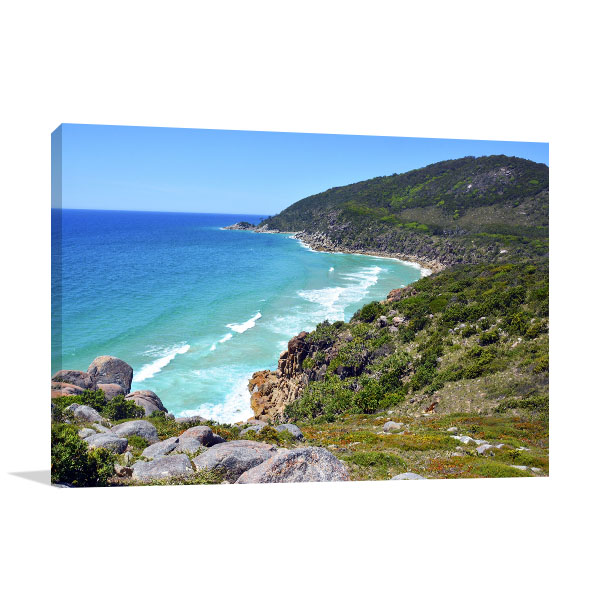 Arakoon National Park Wall Print Coast NSW Canvas Photo