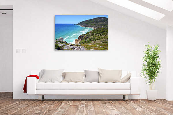 Arakoon National Park Wall Print Coast NSW Picture Artwork