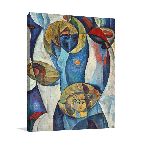 Art of Cubism Print Artwork