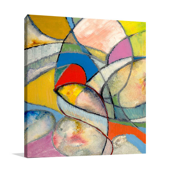 Arty Cubism Wall Art