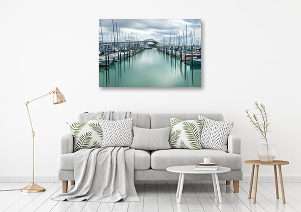 Auckland Art Print Harbour Wall Artwork