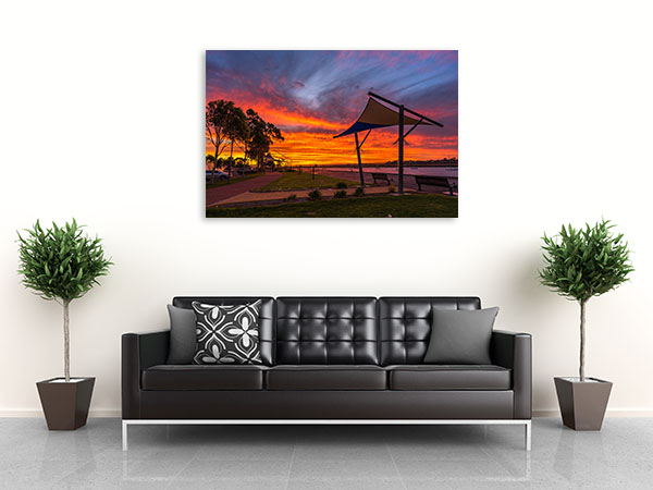 Augusta Wall Art Print Lovely Sunset Canvas Art Prints