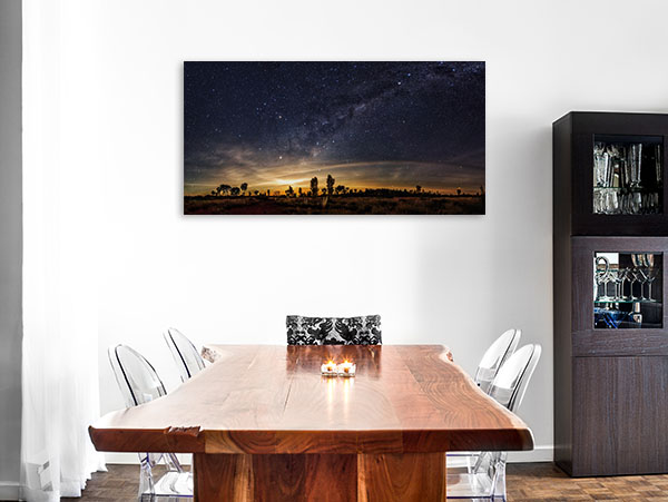 Australia Outback Art Print Milky Way Canvas Art