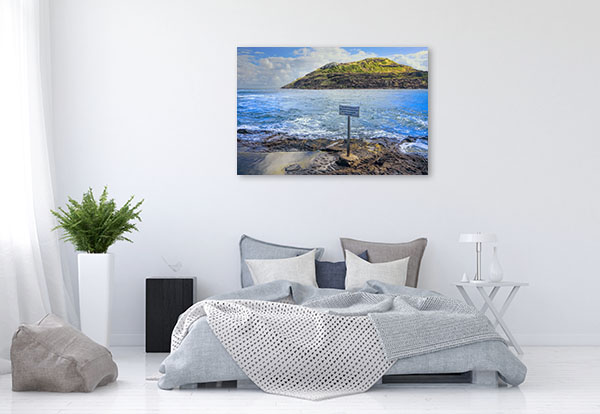 Australia's Rocky Wall Print Headland Prints Canvas