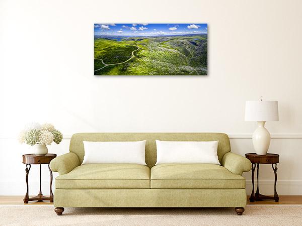 Australian Alps Wall Art Print Aerial Picture Canvas