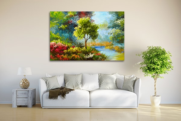 Autumn Foliage Artwork