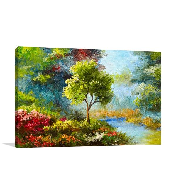 Autumn Foliage Print Artwork