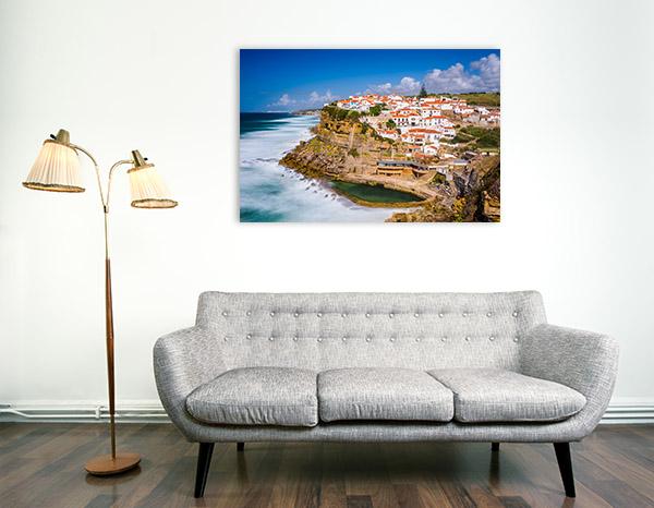 Azenhas do Mar Wall Art Print