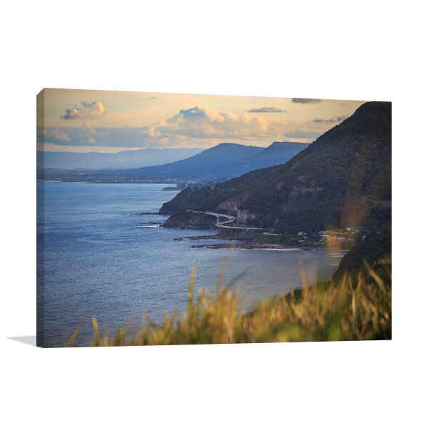 Bald Hill Lookout Wall Print NSW Photo Canvas